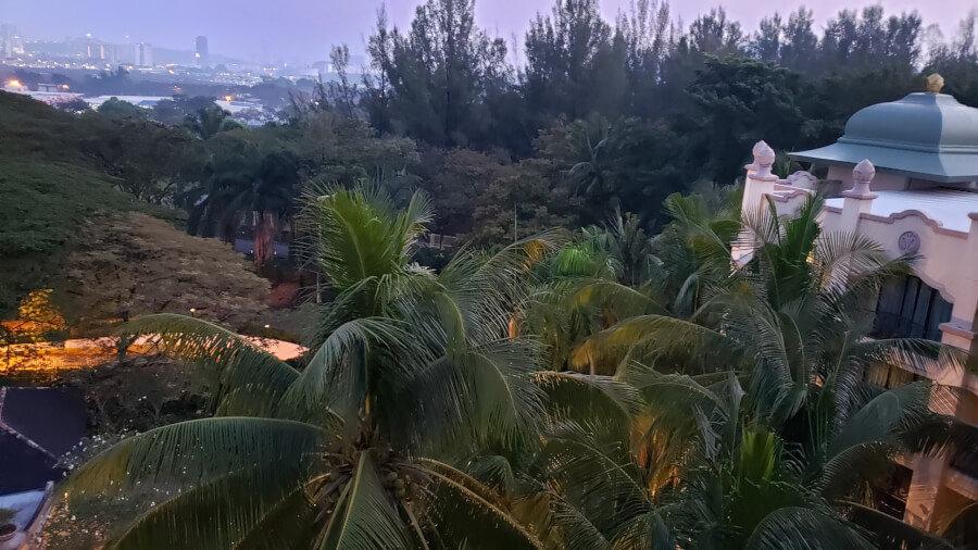 パレス オブ ザ ゴールデン ホーセズの部屋の窓からの景色