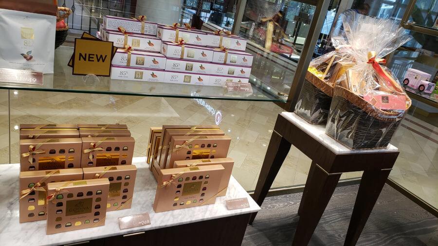 Suria KLCC – Godivaのチョコレートセット
